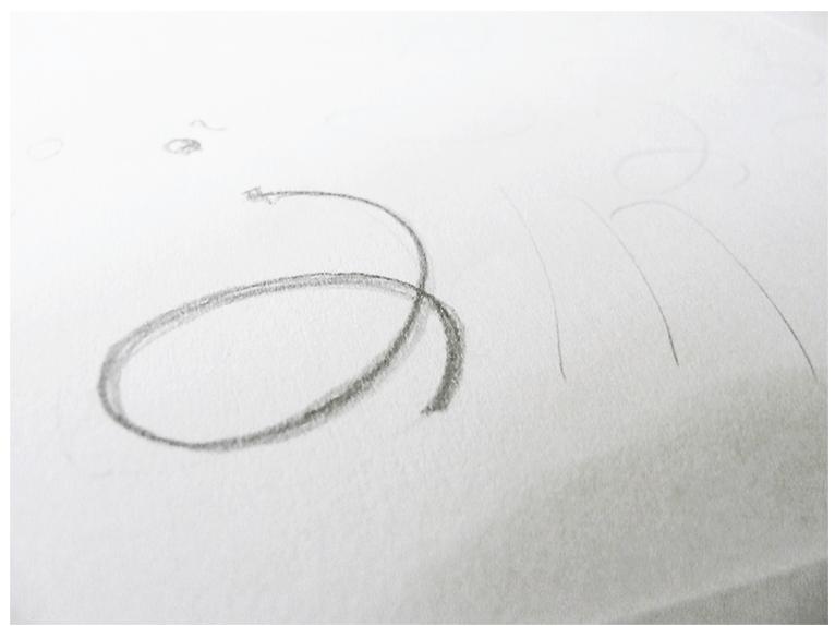 Étude de logotype pour Je suis en forme, Pilates et Yoga (3)