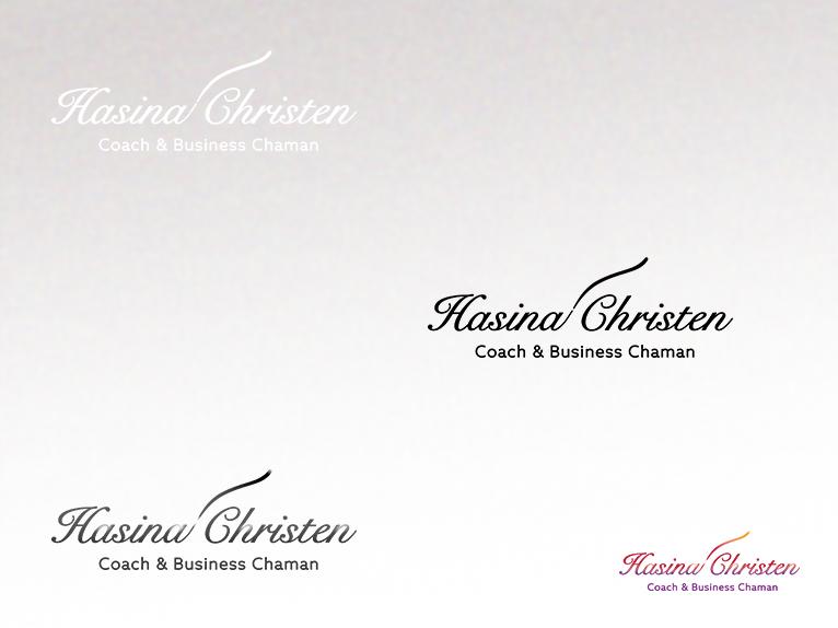 Hasina Christen - Logotype creation by SyllaDesign